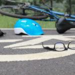 Drunk driving crash on bike lane