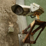 Old security camera.